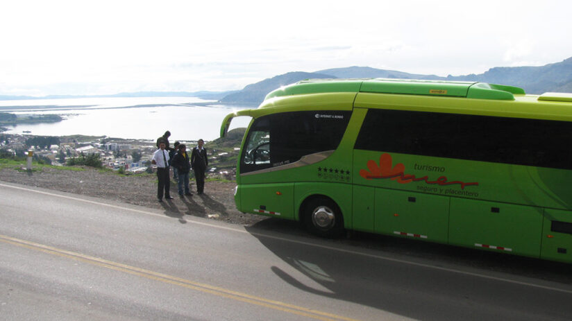 traveling by bus from lima to cusco