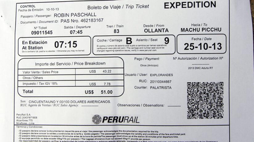 train tickets to machu picchu buy tickest trusted company