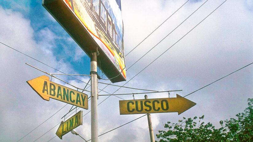 via abancay route lima to cusco