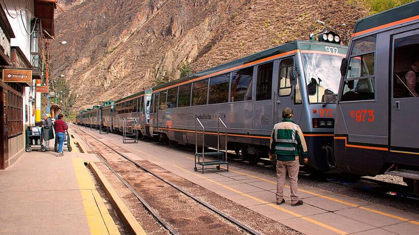 train tickets to machu picchu where to take train