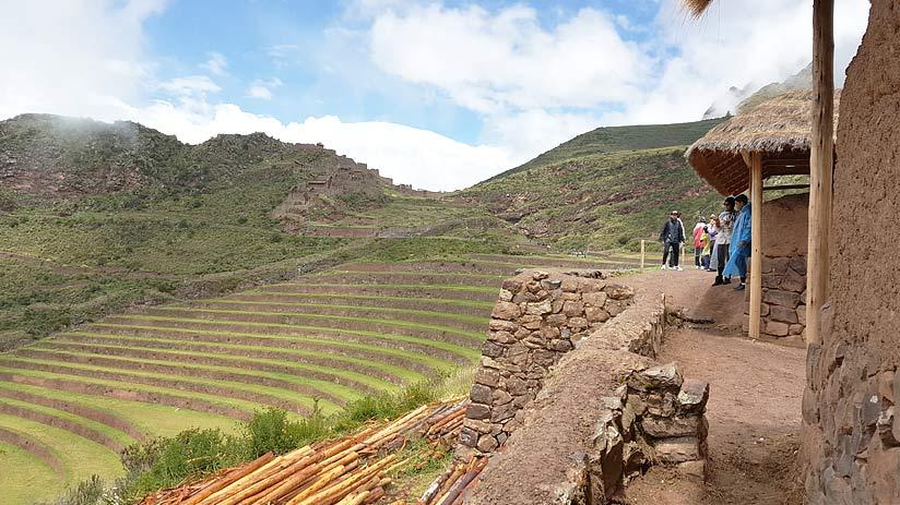awanacancha ruins cusco