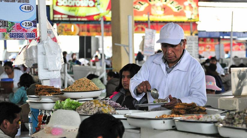 foods drinks san pedro market cusco