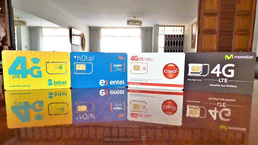 peru travel sim cards