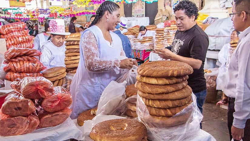 breads san pedro market cusco