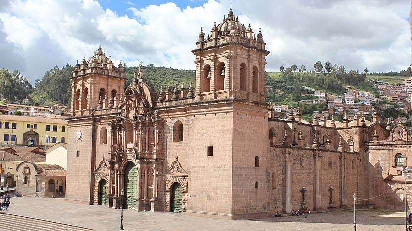 cathedral old churches cusco religious ticket