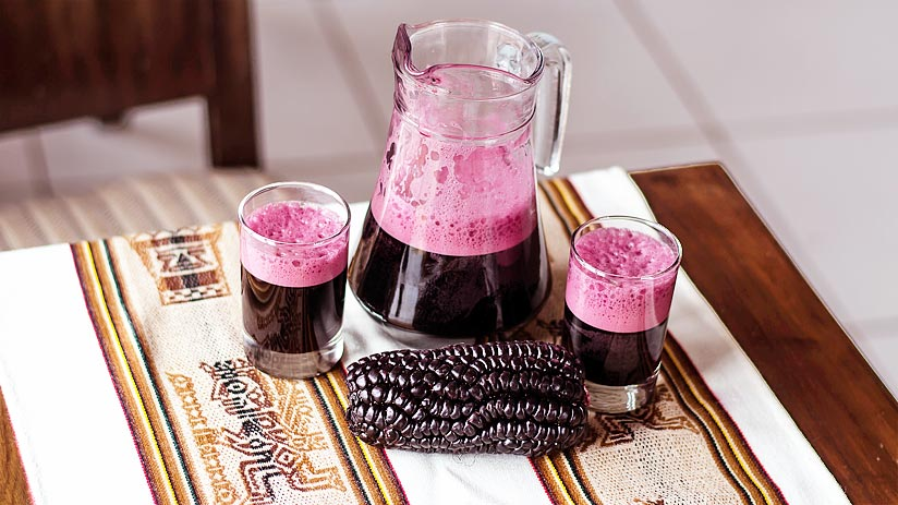 chicha morada what to drink in peru