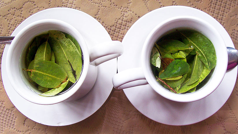 coca tea what to drink in peru