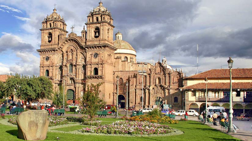 compañia old churches cusco religious ticket