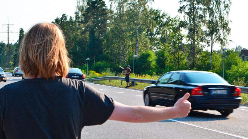 security in peru hitchhiking