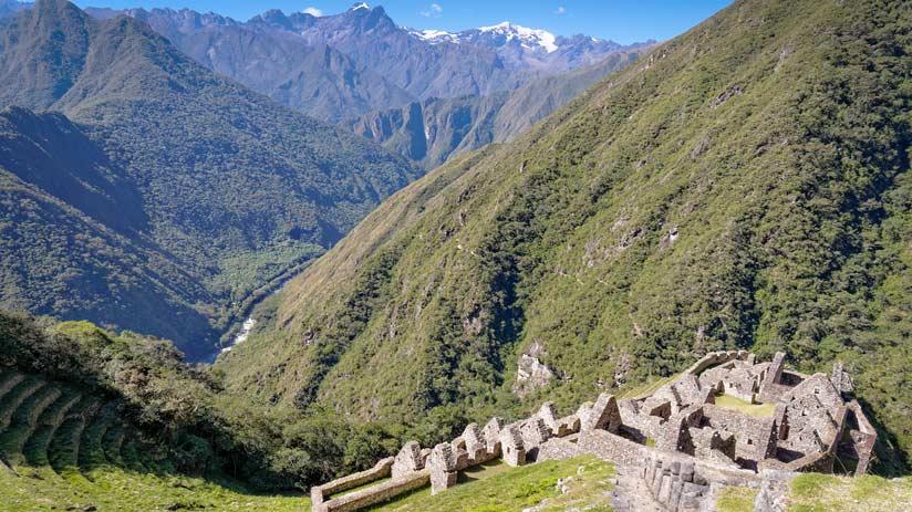 inca trail ruins availability