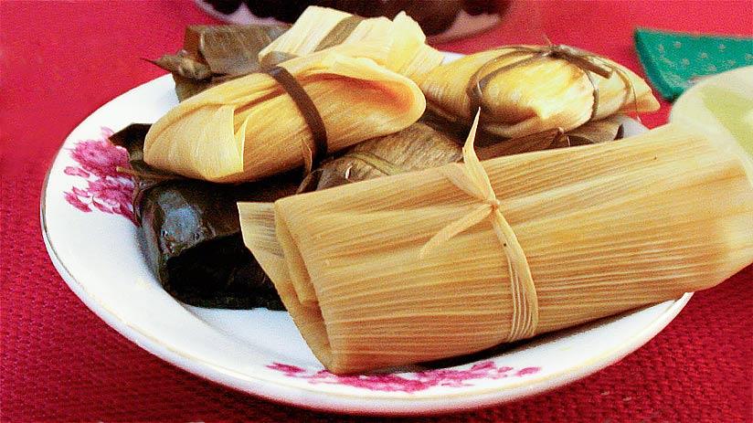 peruvian street food tamales