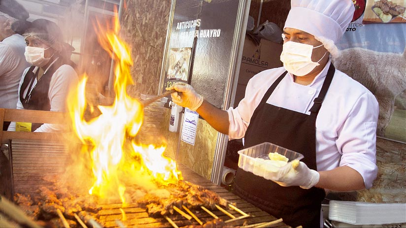 peruvian street food