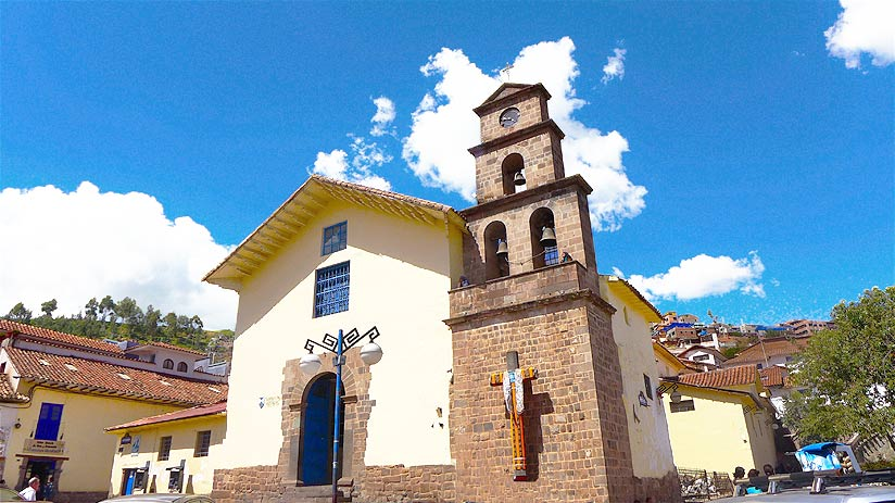 san blas old churches cusco religious ticket