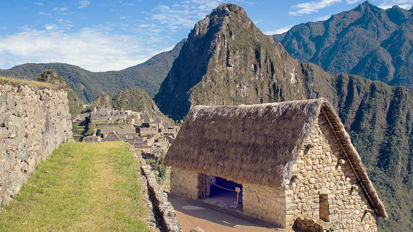 guardhouse machu picchu pictures