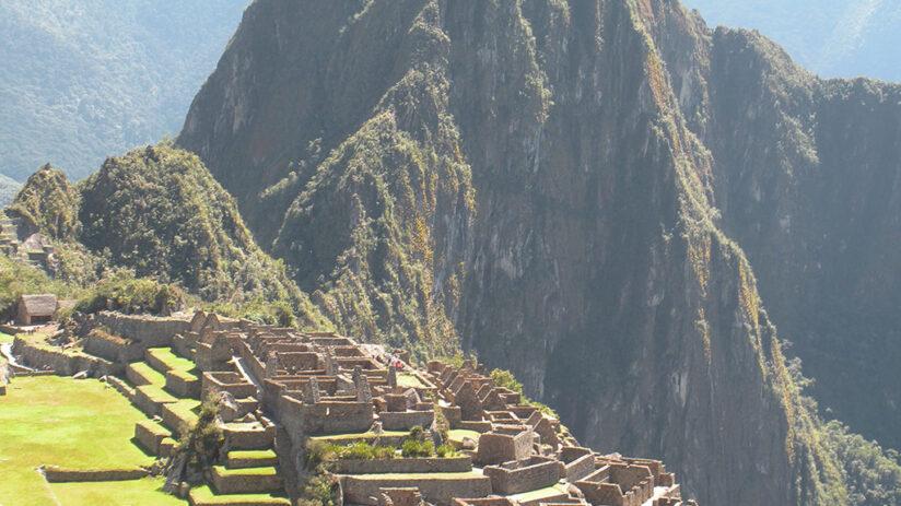 how high is machu picchu altitude citadel