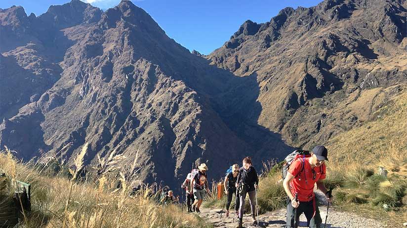 how high is machu picchu hike