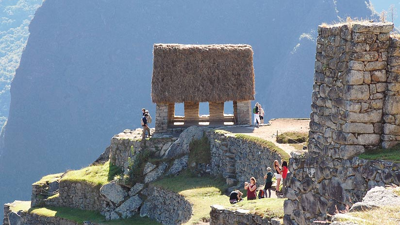 watchman hut machu picchu pictures