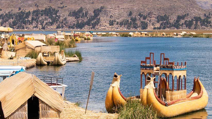explore peru at lake titicaca