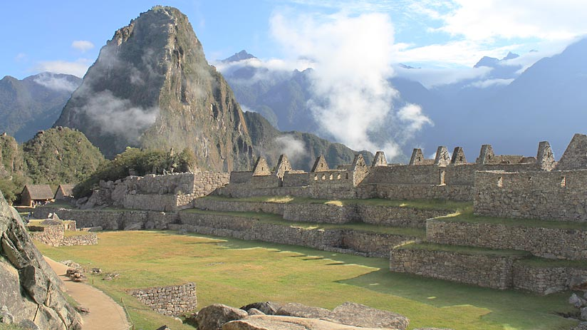 machu picchu peru tourist map