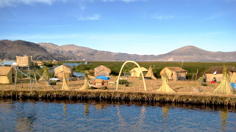 machu picchu to lake titicaca floating islands of uros