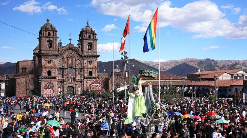 peru tourist map cusco