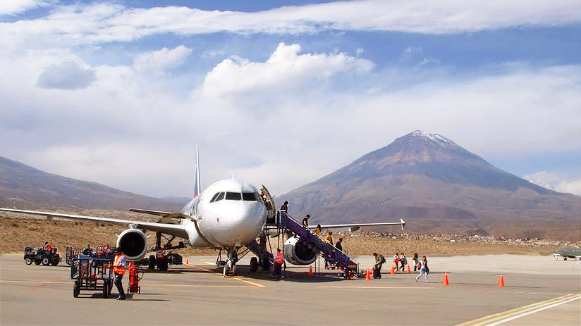 peruvian airlines arequipa