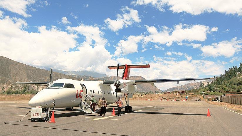 peruvian airlines huaraz