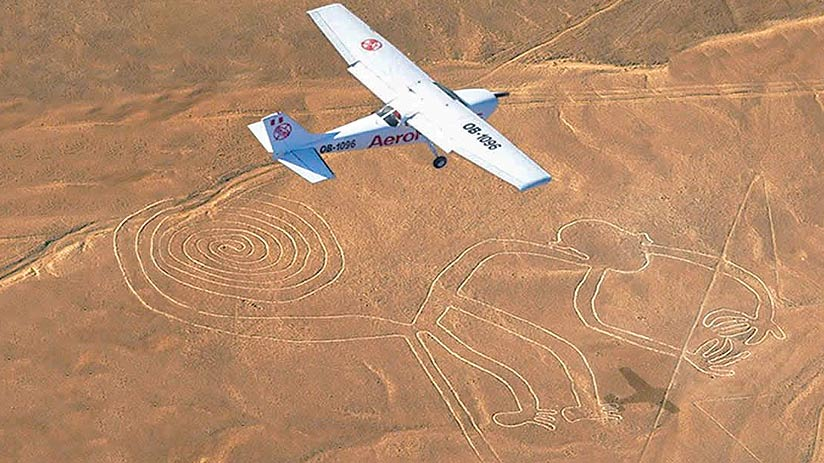 peruvian airlines nazca lines