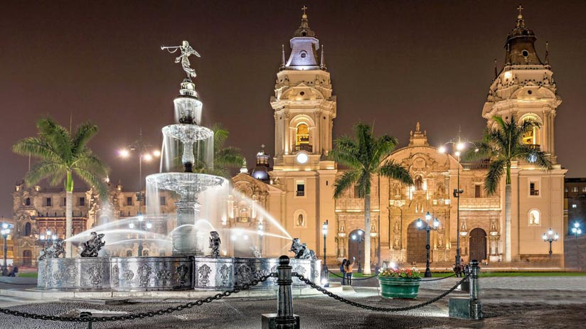 main square lima nightlife