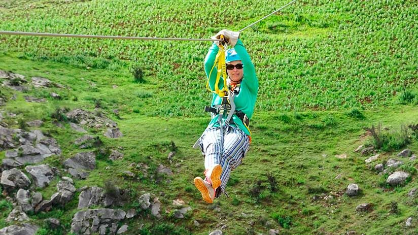 things to do in sacred valley zip line