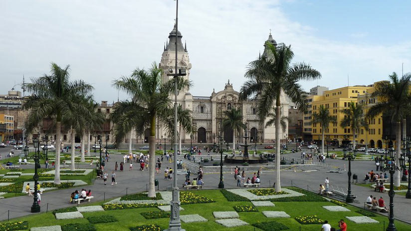 other thing to do in areuipa is the main square of arequipa