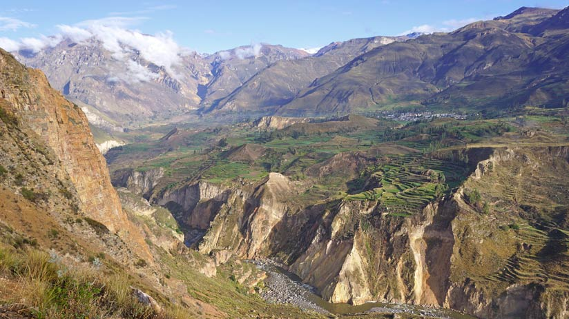 places to visit in peru colca