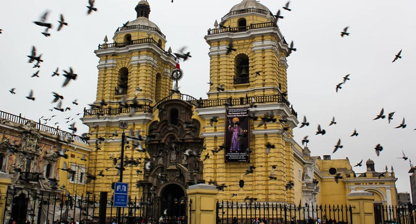 san francisco church, lima tourist attractions