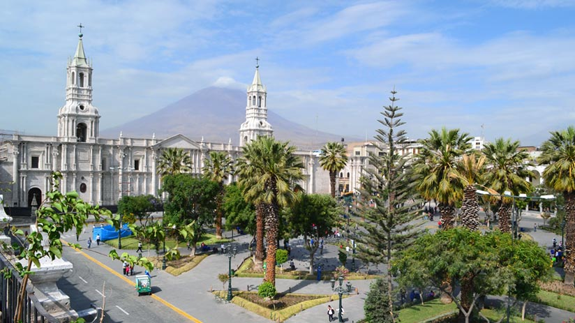 things to see in peru arequipa