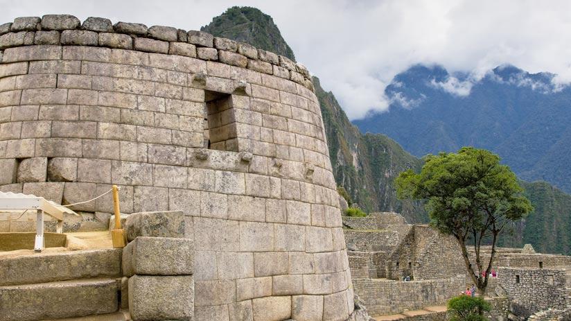 visiting machu picchu ruins
