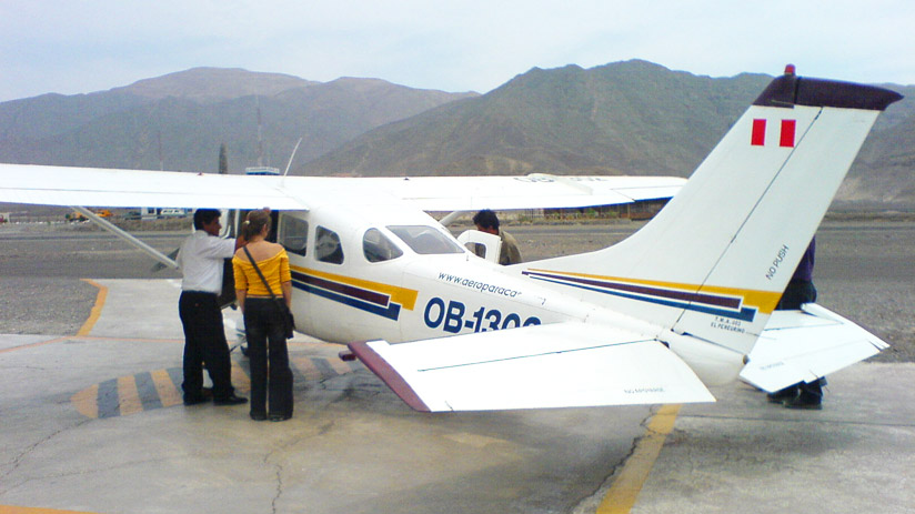 aircraft to see nazca lines, peru expeditions