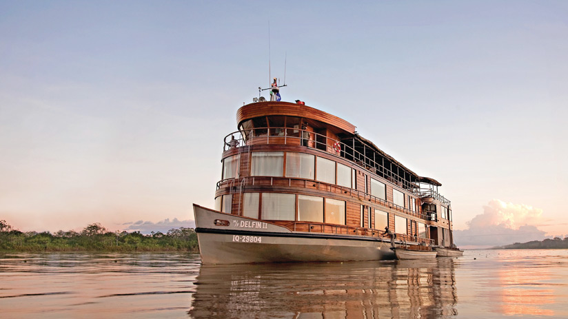 cruise on the amazon river, traveling to peru in january