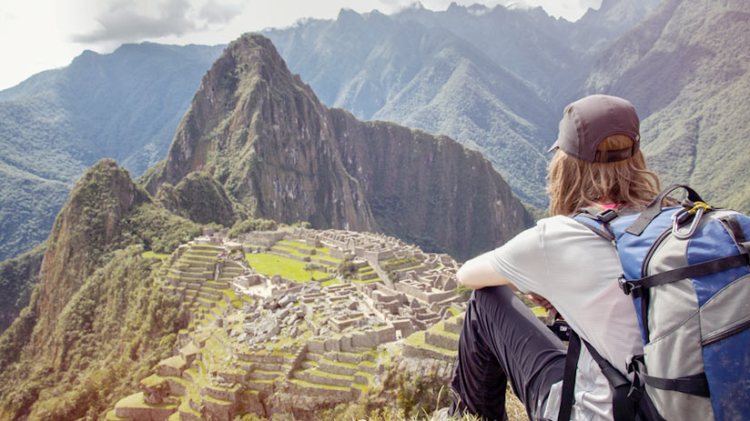 climbing machu picchu mountain, take the best views