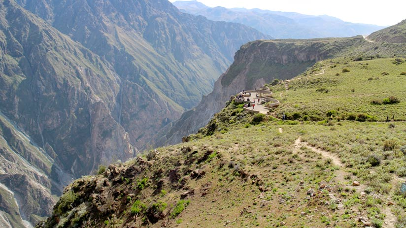 viewpoint of colca canyon, peru holiday packages