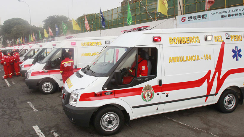 ambulance in lima, peru travel warnings