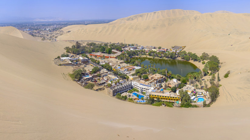 the desert oasis in peru, traveling to peru in march