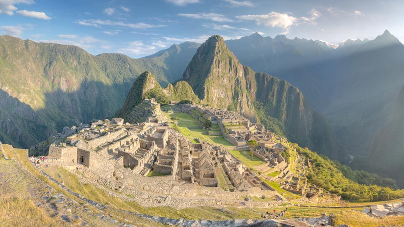 view of inca city, machu picchu itinerary