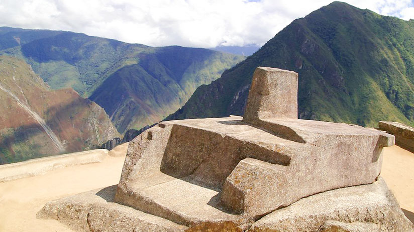intiwatana is solar watch of the incas, machu picchu information