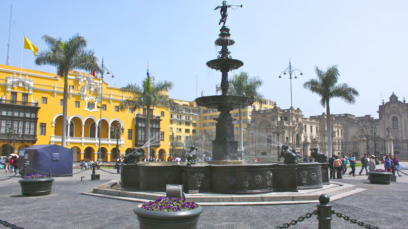 main square of lima peru holiday packages