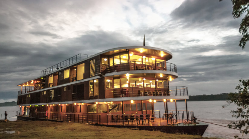 luxury accommodation cruise with amazon tours peru