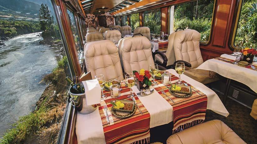 luxury service in tha machu picchu itinerary