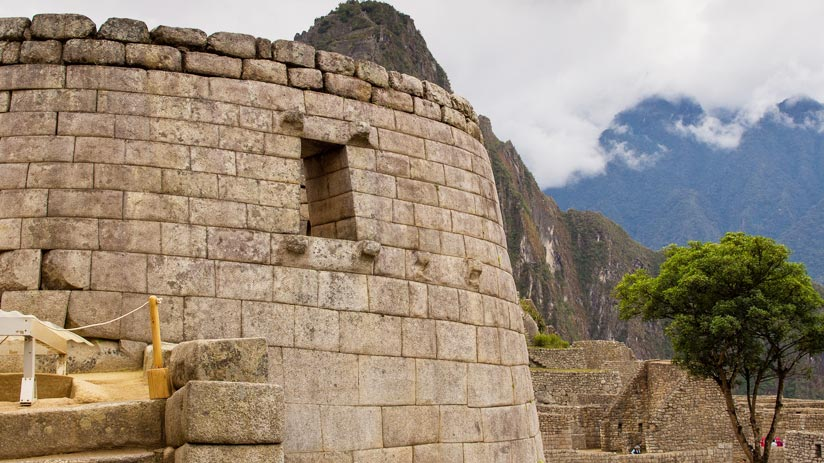 temple of the sun machu picchu, adventure holidays peru