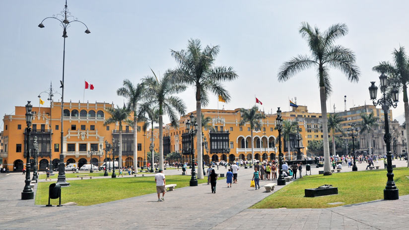 plaza of lima, peru travel warnings
