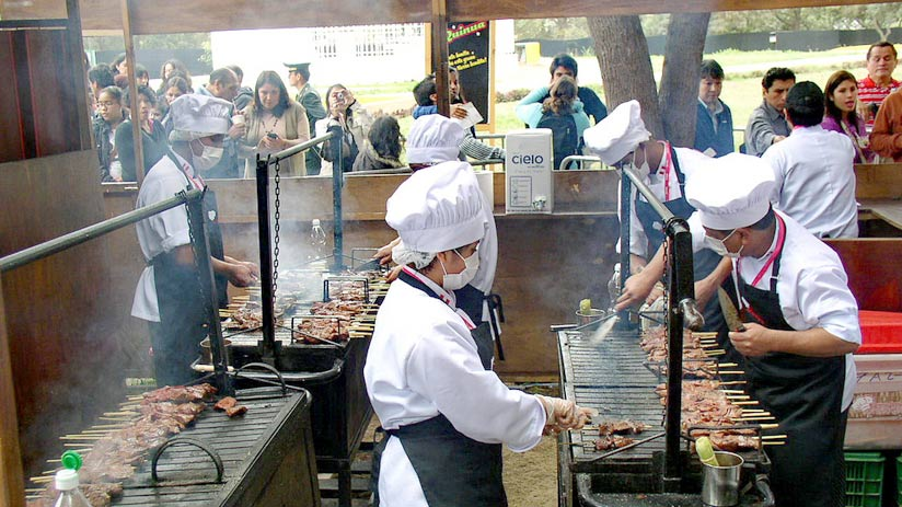 mistura is famous food festival in lima, best time to visit peru