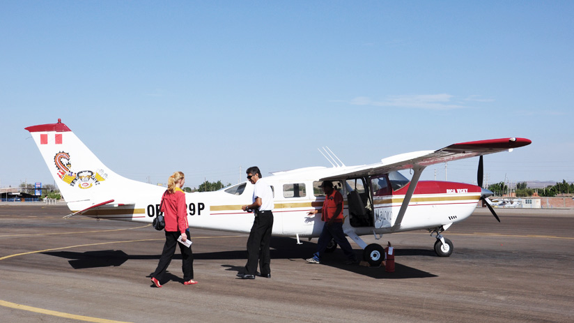 aircraft to see nazca lines, adventure holidays peru